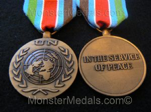 FULL SIZE UNITED NATIONS CROATIA MEDAL UNCRO